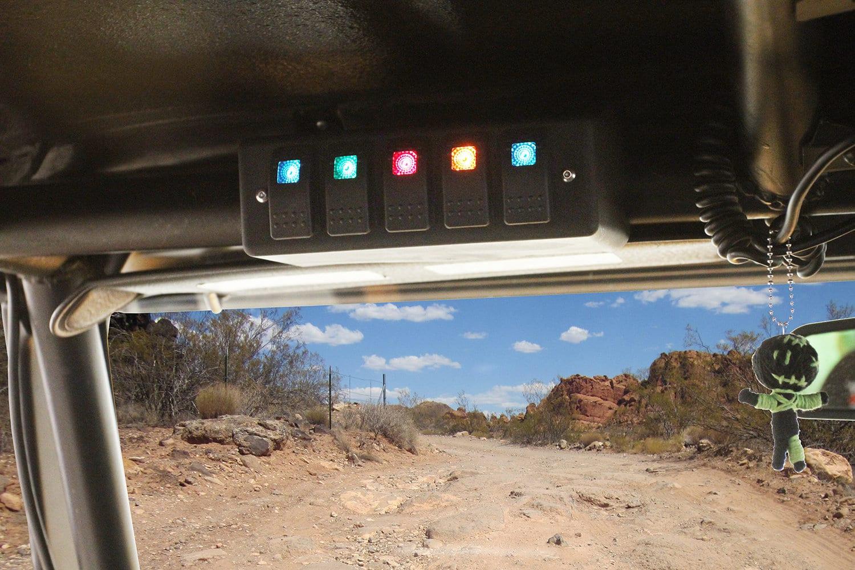 Daystar Roll Bar Mounted Switch Panel