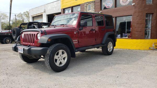 Jeep Jk Lift Kits >> Rough Country Jeep 07 18 Jk 4wd 2 5in Lift Kit