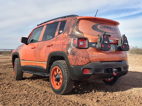 Lifted Jeep Renegade >> Daystar 1 5 Series Jeep Renegade Lift Kit For The 2015 18 Jeep Renegade